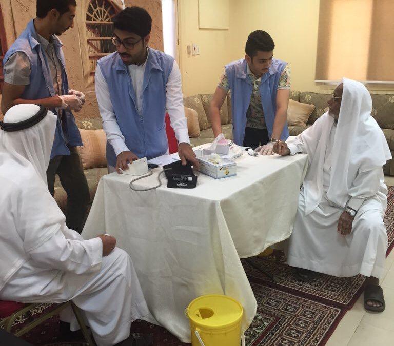 مبادرة المزروعية بتوعية أهالي الحي بمرض السكر