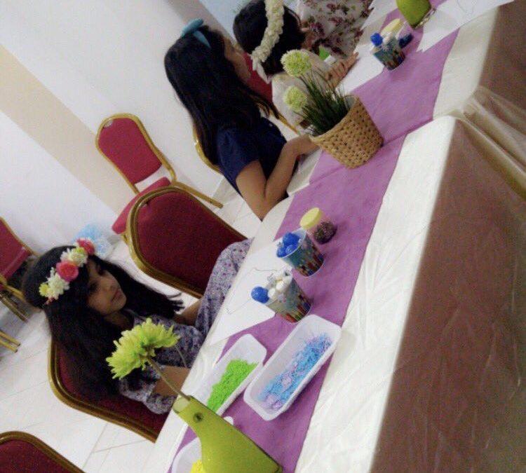 أقام مركز الزهور القسم النسائي برنامج ميلاد